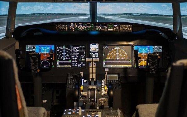Let na simulátoru v Boeingu 737 MAX   Brno   celoročně   45 min. let + instruktáž5