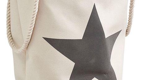 Koš na prádlo STAR - 61 l, barva béžová, ZELLER