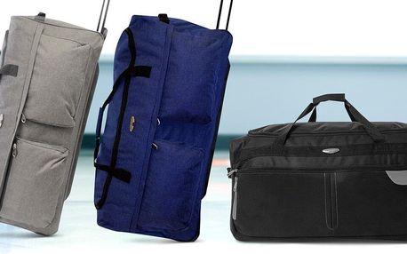 Nepromokavé cestovní tašky na kolečkách: 6 verzí