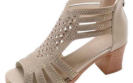 Dámské boty na podpatku Calantha - dodání do 2 dnů
