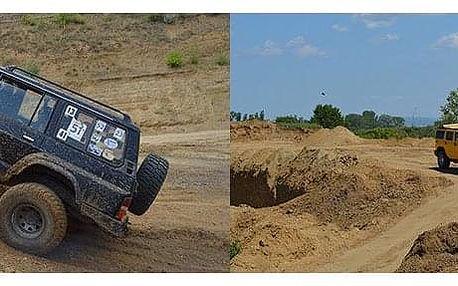 Zážitková jízda Hummerem H2 nebo offroadem Nissan Patrol
