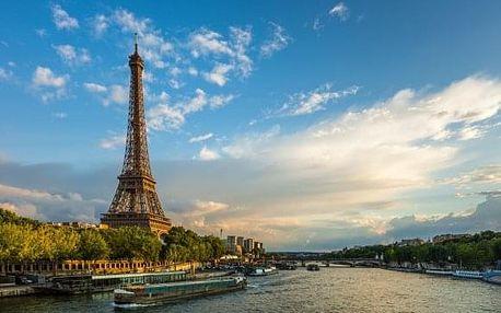 4denní zájezd pro 1 osobu do Paříže a do Disneylandu