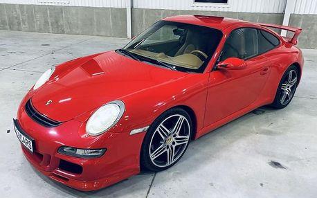 Jízda v Porsche 911 Carrera GT3 (997.1) v Praze