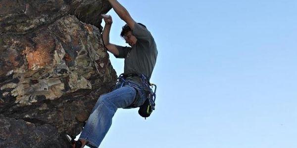 Ochutnávka lezení na skalách, cca 2,5 hod (asi 60 - 90 min lezení), počet osob: 1 osoba, Jihočeský kraj2