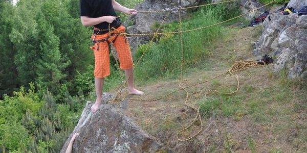 Ochutnávka lezení na skalách, cca 2,5 hod (asi 60 - 90 min lezení), počet osob: 1 osoba, Jihočeský kraj3