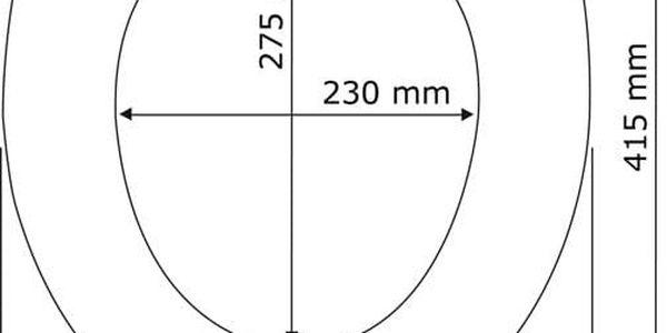 WC prkénko z duroplastu HELLO, WENKO, originální design2