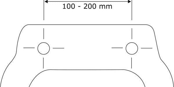 WC prkénko z duroplastu HELLO, WENKO, originální design3