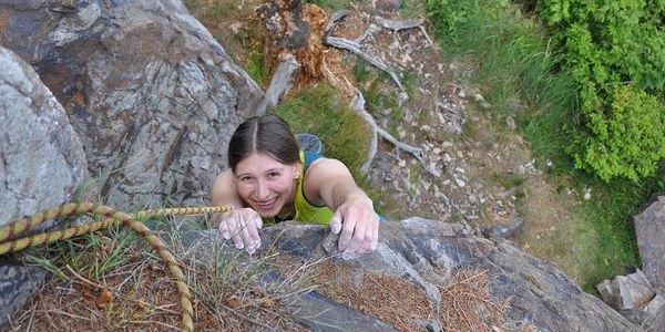 Ochutnávka lezení na skalách, cca 2,5 hod (asi 60 - 90 min lezení), počet osob: 1 osoba, Jihočeský kraj5