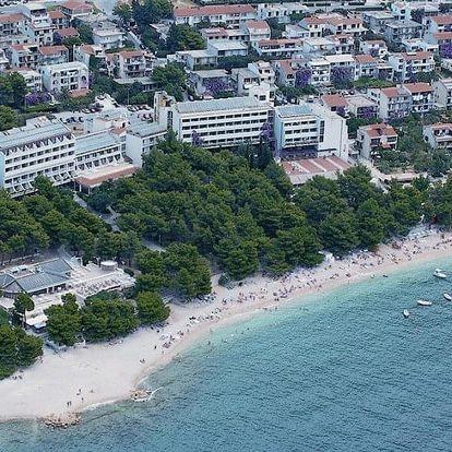 Chorvatsko - Makarska autobusem na 10 dnů