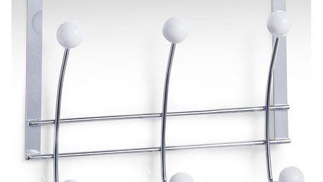 Věšák na dveře, 3 háčky, chromovaná ocel,ZELLER