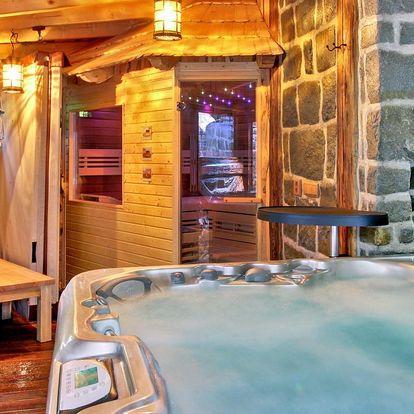 Luxusní wellness chata v Beskydech až pro 10 osob