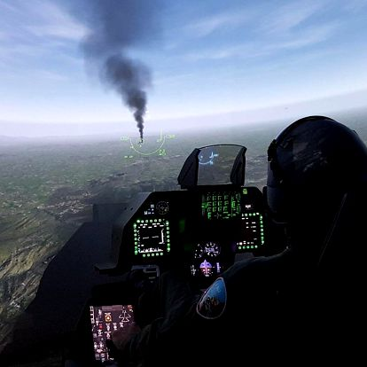 Simulátor letu Supermarine Spitfire i Falcon