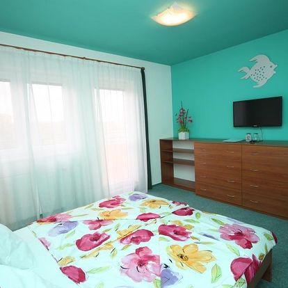 Romantický pobyt v Active wellness hotel U Zlaté Rybky v Tučapech