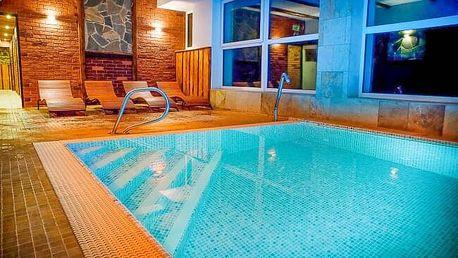 Jeseníky: Relax Centrum Kolštejn *** s obrovským saunovým komplexem, bazénem, slevovou kartou a polopenzí