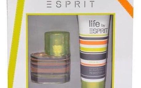 Esprit Life dárková kazeta pro muže toaletní voda 30 ml + sprchový gel 75 ml