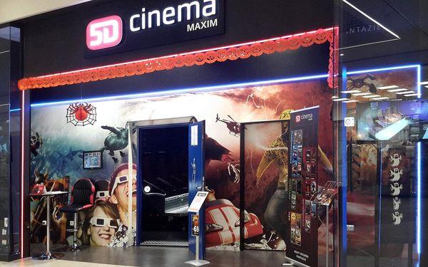 Vstupenka na 1 libovolný film do 5D Cinema Maxim2