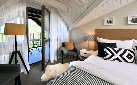 Moderní vila Beatrice přímo pod Tatrami se vstupem do sauny