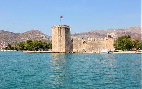 Dovolená v Chorvatsku ve historickém městě Trogir u moře v 4 * hotelu Pasike