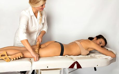 Proticelulitidní masáž, kosmetické ošetření a aplikace kyseliny hyaluronové