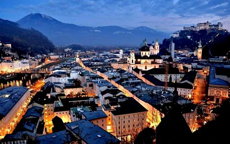 Rakousko - Salzburg autobusem na 1 den
