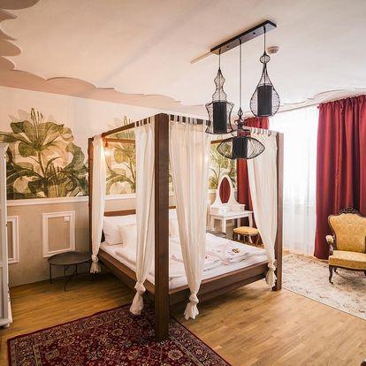 Designový hotel jen pár kroků od krumlovského zámku