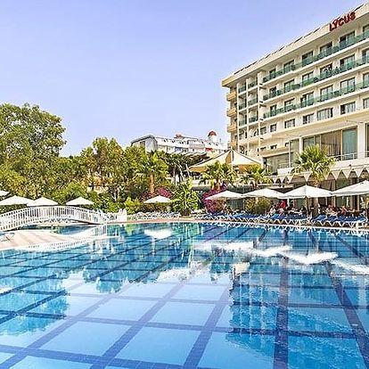 Turecko - Alanya letecky na 4-15 dnů, all inclusive