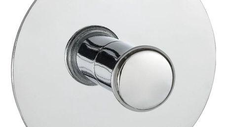 Věšák do koupelny s chromované oceli, 6 cm, WENKO