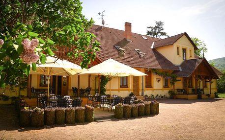 Dolní Věstonice: Restaurace a penzion Hájovna nedaleko vodní nádrže Nové Mlýny