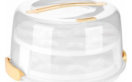 Tescoma Delícia podnos na muffiny s poklopem