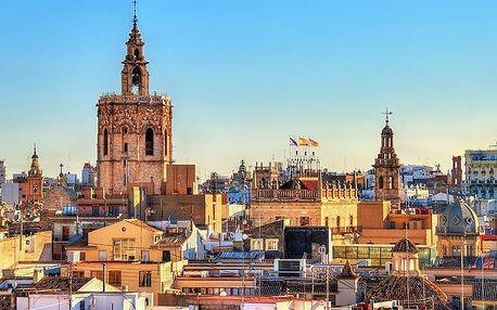 Španělsko - Valencie letecky na 4 dny, snídaně v ceně