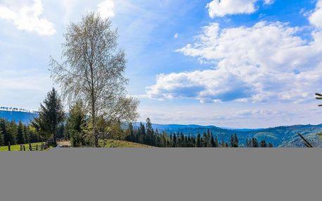 Chata Barborka v Horní Bečvě s polopenzí u Stezky v korunách stromů