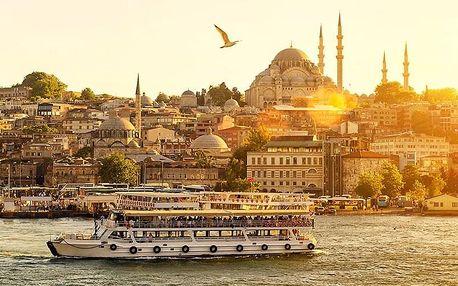 Turecko - Istanbul letecky na 4 dny, snídaně v ceně