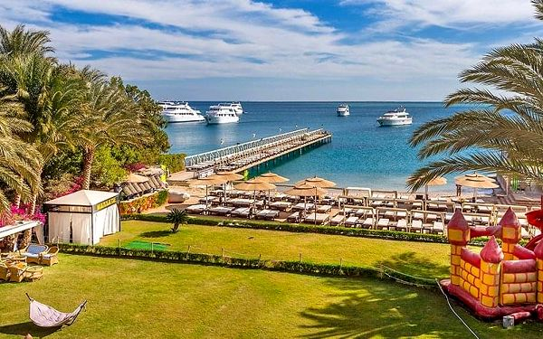 Hotel Elysees Dream Beach Hotel, Hurghada, letecky, all inclusive2