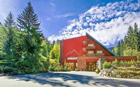Krkonoše ve Špindlerově Mlýně: Hotel Velveta *** s wellness a slevou na zapůjčení kol a koloběžek + polopenze