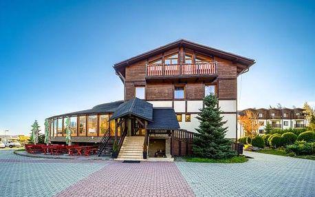 Vysoké Tatry: jaro v Hotelu Eufória *** s polopenzí a wellness + dítě zdarma