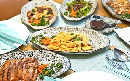 Sestavte si 4chodové čínské menu sami i ve dvou