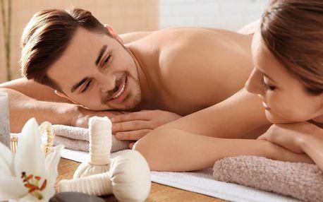 Hodinová párová masáž: výběr ze 7 druhů