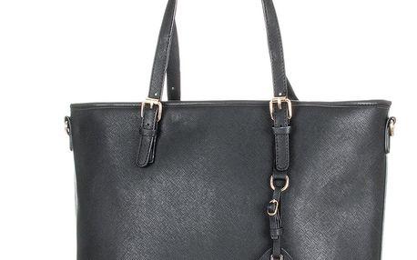 Erick Style Kabelka dámská shopper elegantní s přívěskem