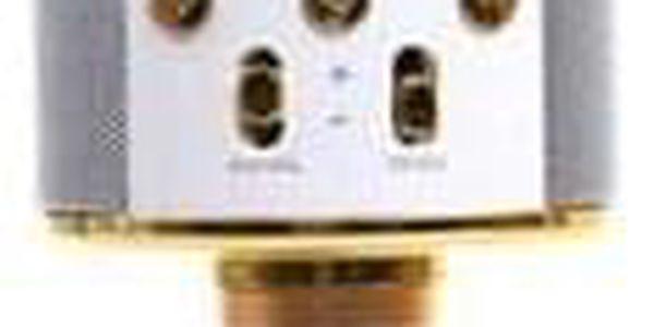 Karaoke mikrofon WS-858 zlatý