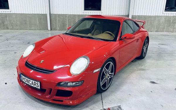 Jízda v Porsche 911 Carrera GT3 (997.1) v Brně2