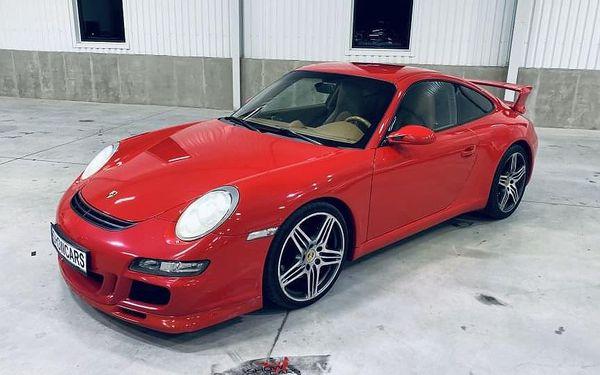Jízda v Porsche 911 Carrera GT3 (997.1) v Brně4