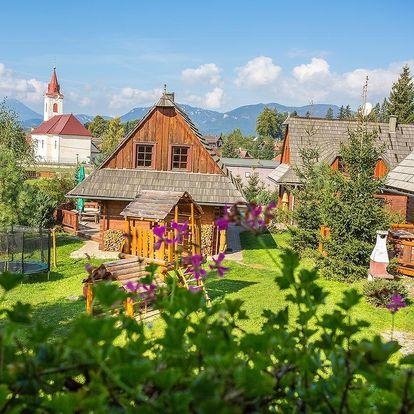 Vysoké Tatry: Rekreačné chalupy Liptov