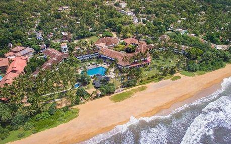 Srí Lanka - Kalutara letecky na 12 dnů, all inclusive