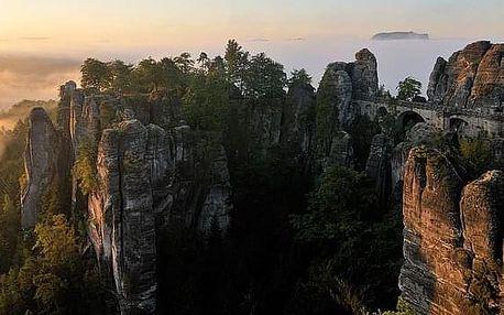 Krásy národních parků Českého a Saského Švýcarska