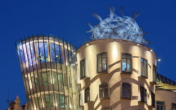 Noc ve skleněné věži Tančícího domu, Praha 2, 1 noc, 2 osoby, 2 dny5