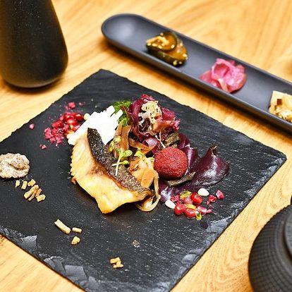 Degustační večeře Omakase se saké