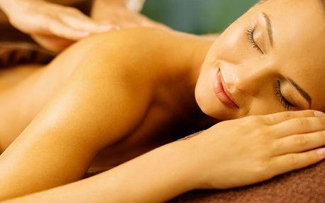 Výběr ze 4 druhů hodinových masáží
