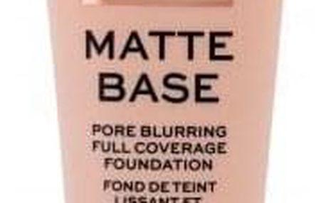 Makeup Revolution London Matte Base 28 ml matující make-up pro mastnou pleť pro ženy F1