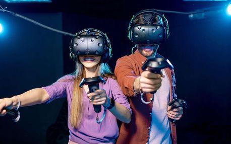 Úniková hra ve virtuální realitě pro 2 osoby na Praze 5