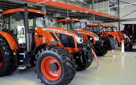 Vstupenky do Zetor Gallery – světa traktorů